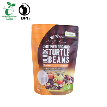 bpi certification biodegradable compostable zip lock coffee bag