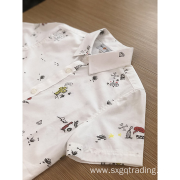 Adorable kids' 100% cotton short sleeve shirt