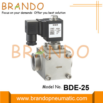 1'' High Pressure Stainless Steel Solenoid Valve 24V