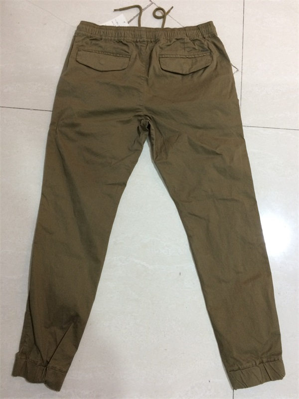 Men's Long Pant with Elastic on Bottom