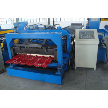 New Finished Glazed Tile Roofing Sheet Machine
