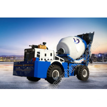 3.6 cubic meters concrete cement mixer truck