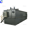 Dissolved gas flotation units for wastewater treatment unit