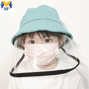 Kids Protactive Cap Hat with Face shield