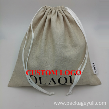 promotional drawstring bag with custom printing