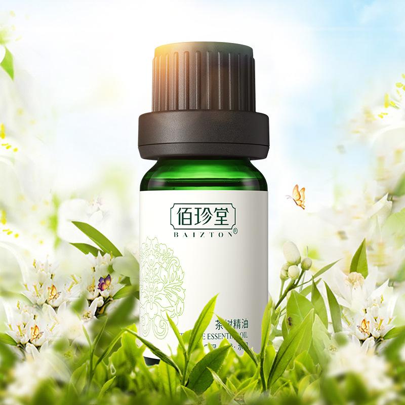 Tea Tree Essential Oil Moisturizing Oil Control Fade Acne Printing Contractive Pore Original Liquid Skin Care