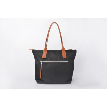 Fashion Durable Black Nylon Handbags Women Casual Bag