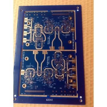 8 strata HDI via in pad PCB