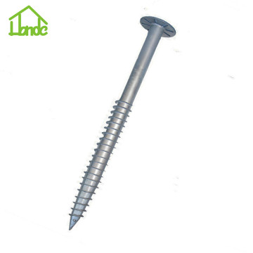 New cheap Q235 galvanized ground screw