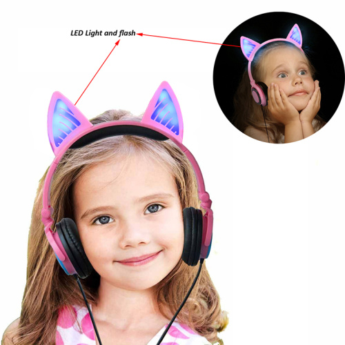 Bluetooth Wireless Kitty Ear Party Original Headphone