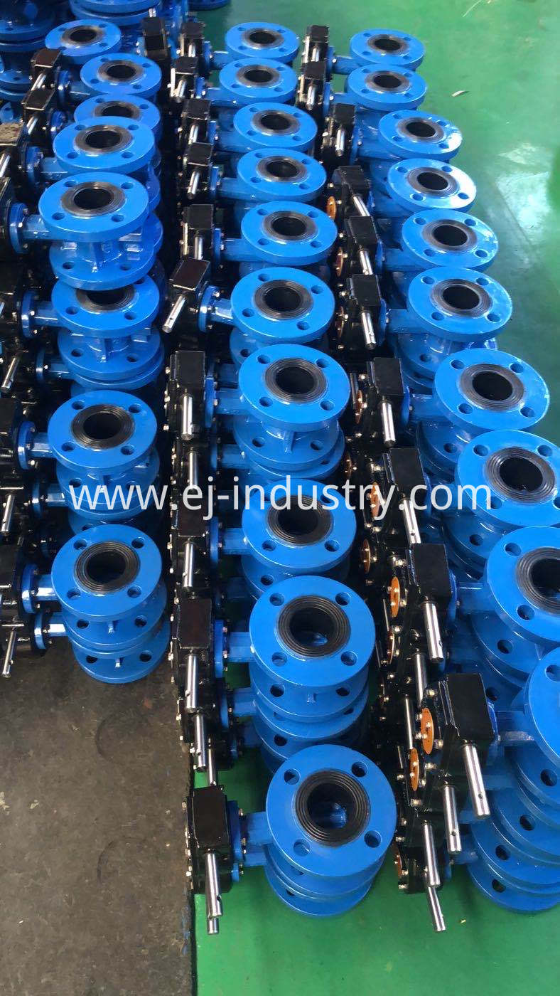 Di Flange Butterfly Valve