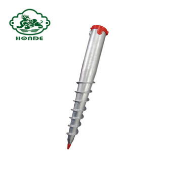 Ground Screw With Installation Tool