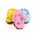 Dogs Toy Pet Blue Puppy Cute Plush Slipper