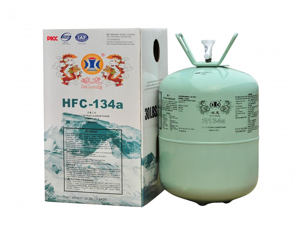 Refrigerant gas R134a for car