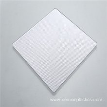 High Light Diffusion Prismatic Polycarbonate Solid Sheet