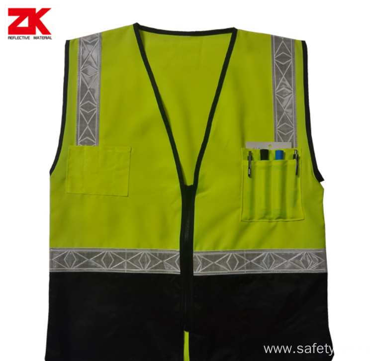 Low price safety reflective jacket
