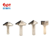round groove PCD wood router bit for flooring