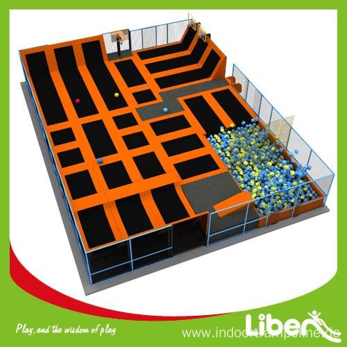 Hot Selling Indoor Big Air Trampoline for Sale