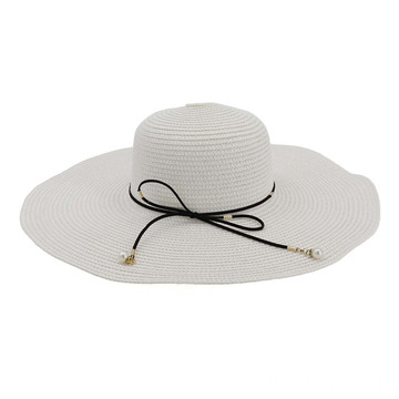 Fedora gored hat cute top cover straw hat