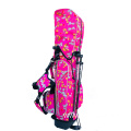 Puppy Print Nylon Bracket Golf Bag