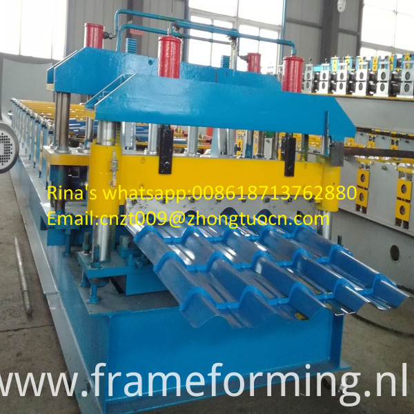 steel sheet roof sheet roll forming machine line 04