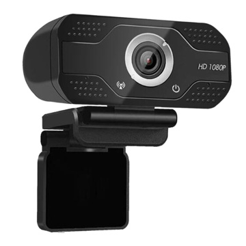 HD Webcam Computer Camera with USB 2.0 Noise-cancelling USB Web Cam Camera for Online Video Calling Recording