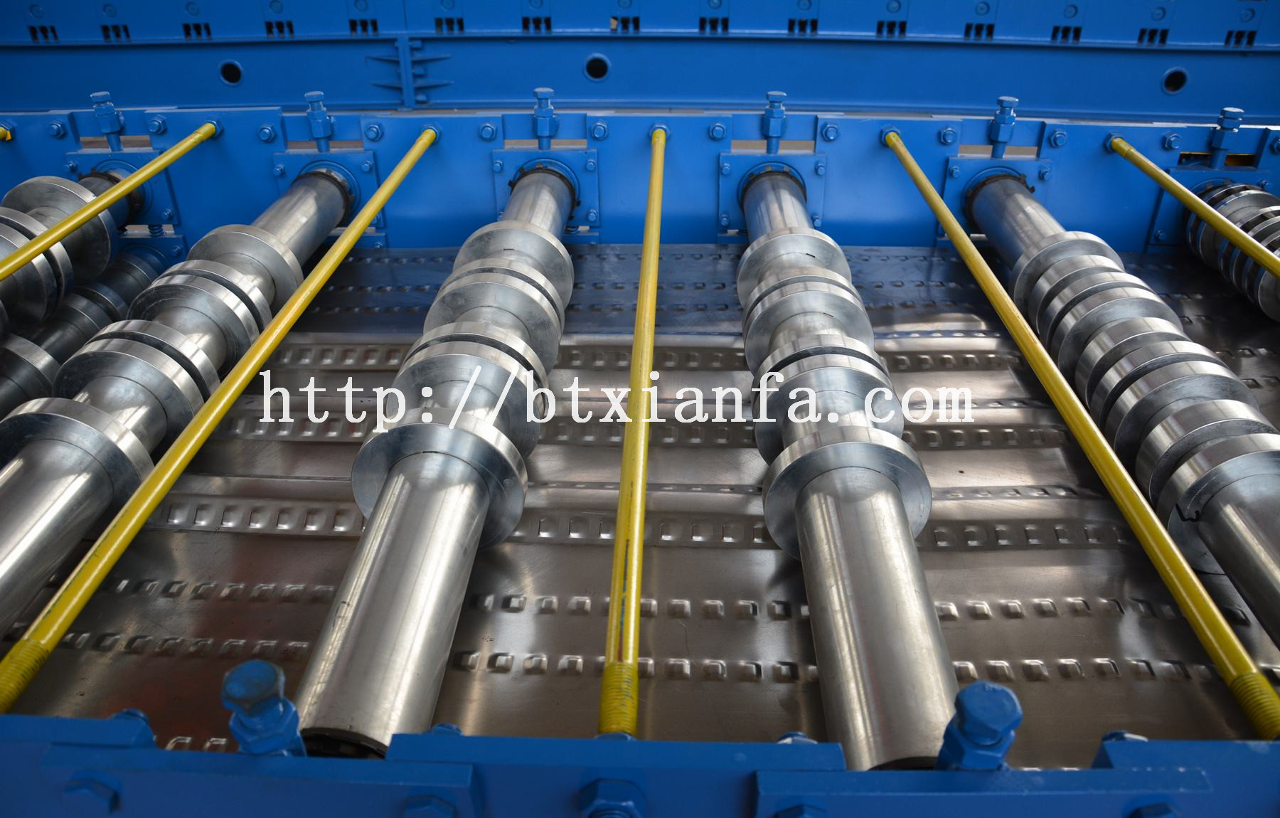 floor decking tile roll forming machine
