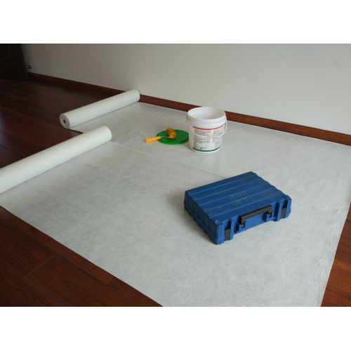 Adhesive Wood Floor Protection Carpet During Construction