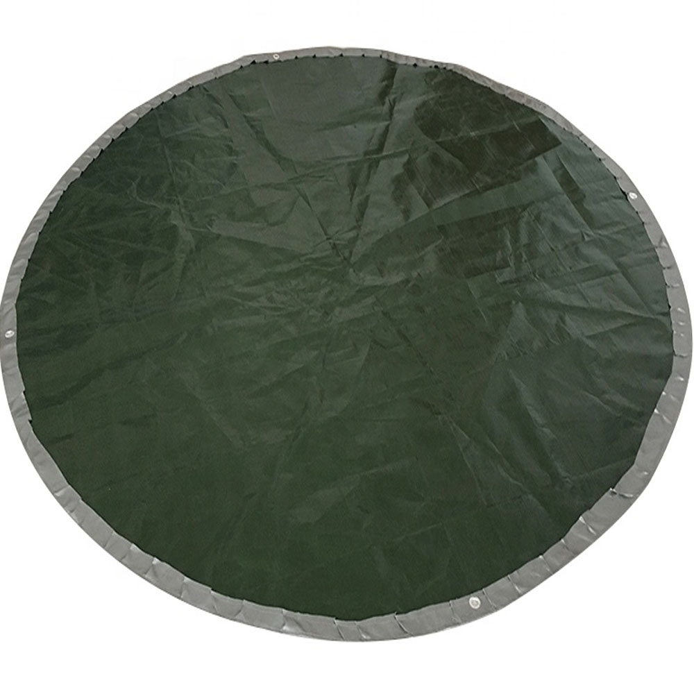 Custom Size Round Circle Shaped Tarp Cover