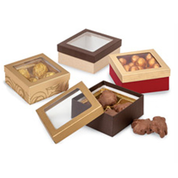 Luxury paper cardboard candy gift box chocolate box