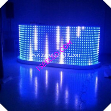 Programmable Disco Pixel LED Light at Club Ceiling