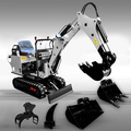 800kg comfortable cabin  newest products mini excavator