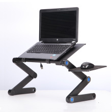 Adjustable Lifting Laptop Table Portable Computer Tray PC Table Stand Notebook Stand with Fan for Dropshipng