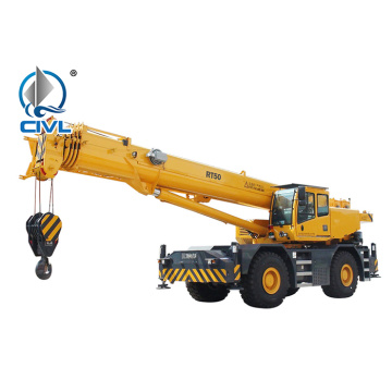 Rough-terrain Crane CVRT50 Hoising Machine