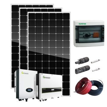 solar system on-grid 5kw solar energy system
