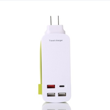 Type-C QC3.0 Charger Power Sockets For Phone