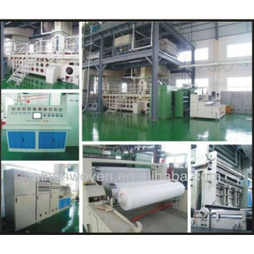 nonwoven fabric manufacturing plant
