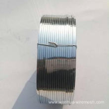 316L Flat Stainless steel wire