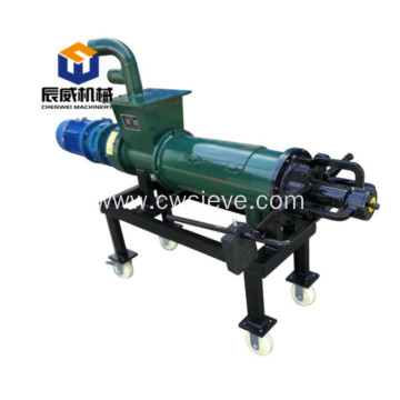 animal manure solid-liquid separator for poultry