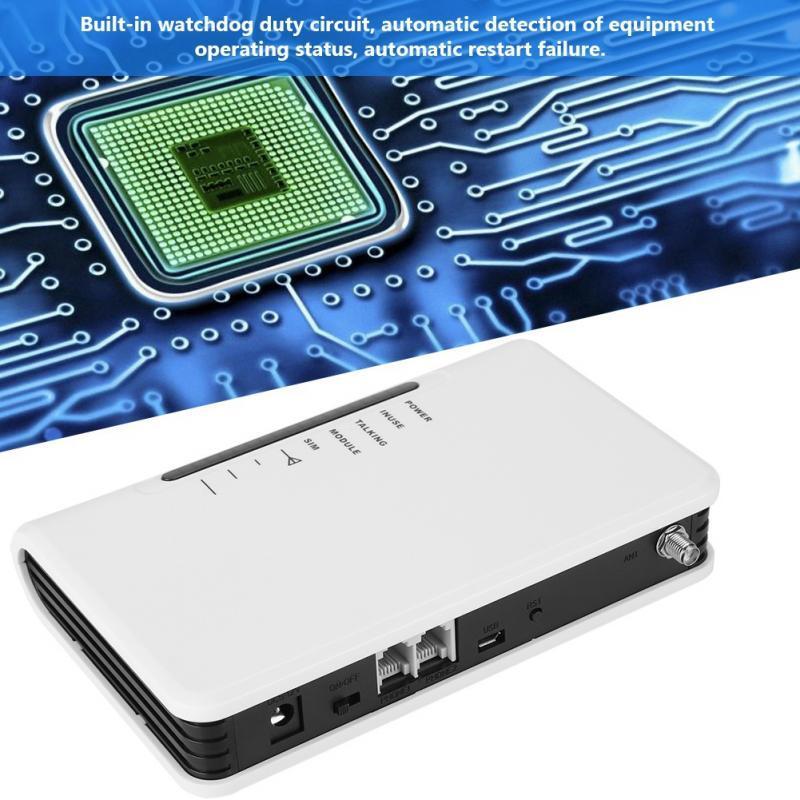 Worldwide LED Fixed Wireless Terminal Quad-band GSM 850/900/1800/1900MHz Alarm AU 100-240V