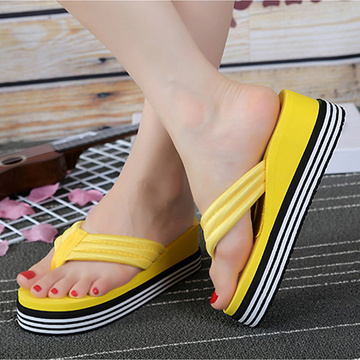 Wholesale Colorful Printed Women Slippers Flip Flop