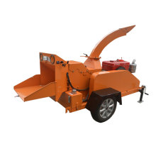 Mobile Diesel Engine Wood Chipper