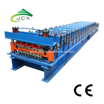 Box and corrugated profile roll forming machine