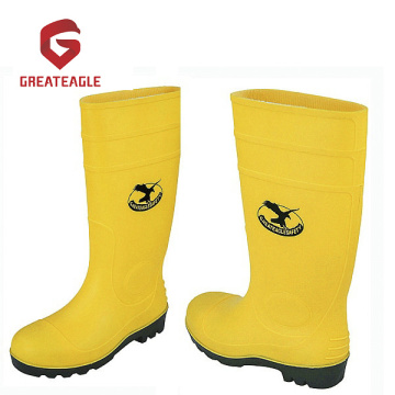 PVC gumboot with steel toe