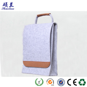 Good quality felt backpack travel bag for teenagers