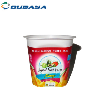 4oz take away frozen yogurt plastic cup