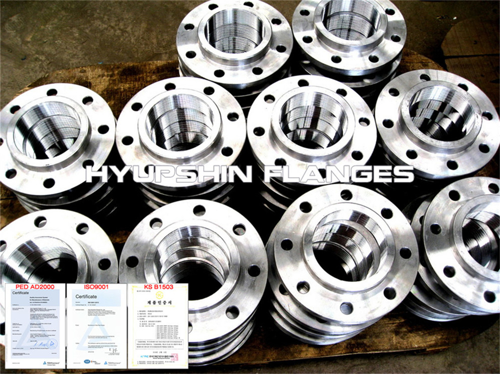 Hyupshin Flanges Threaded Screwed