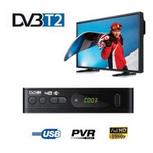 HDMI HD 1080P DVB-T2 Tuner Receiver Satellite Decoder TV Box TV Tuner DVB T2 USB2.0 Built-in Russian Manual For Monitor Adapter