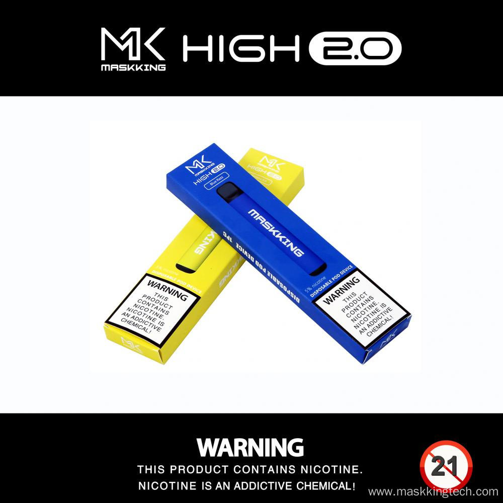 Maskking High 2.0 Disposable Vape Pen