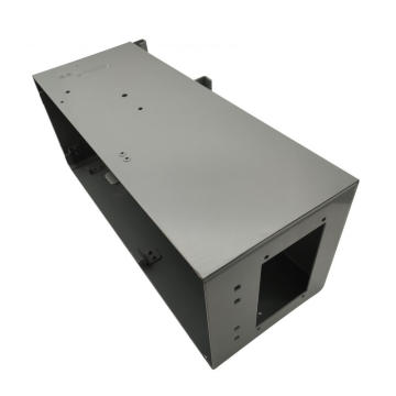 Custom Steel CNC Machining Industrial Enclosures Engineering
